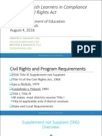 civil rights law for els