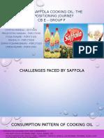 Saffola Cooking Oil Group F Sec E