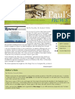 St. Paul's News - June, 2010