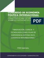 INNOVAC ION, CIENCIA Y TECNOLOGIA PILAR DEL COMERCIO INTERNACIONAL