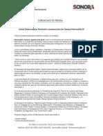 08-08-16 Inicia Gobernadora Pavlovich construcción de Cereso Hermosillo III. C-081628