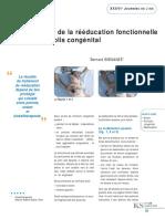 A Propos de La Rééducation Fonctionnelle Du Torticolis Congénital