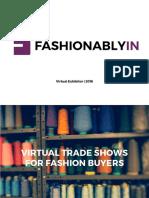 Fashionablyin Virtual Exhibitor 2016