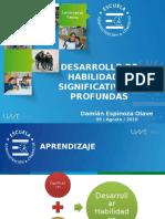 Desarrollo de Habilidades Significativas y Profundas