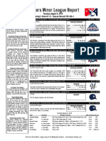 8.9.16 Minor League Report