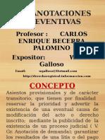 MEDIDAS CAUTELARES Caducidad Actualizado 2015
