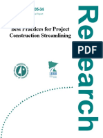 Best Practices for Project Construction Streamlining