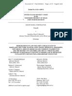 Jim Hood Amicus Brief in Exxon v. Healey over global warming documents CID