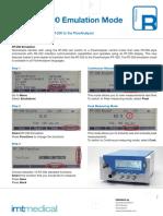 FLowAnalyser Application Note RT-200 Emulation Mode