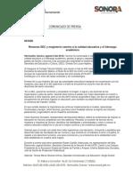 08/08/16 Retoman SEC y magisterio camino a la calidad educativa y el liderazgo académico -C.081626