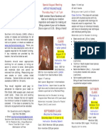 Art Classes August 2016 Brochure
