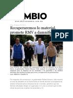 09-08-2016 Diario Cambio - Recuperaremos lo material, promete RMV a damnificados.pdf