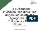 Les puissances invisibles.pdf