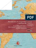La Geopolitica Del Artico. Dos Visiones Complementarias. Espana-singapur
