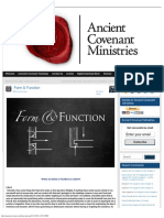 Form Function » Ancient Covenant Ministries