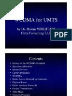 WCDMA for UMTS Training