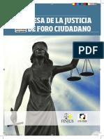 Boletín de la Mesa dev Justicia