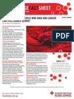 Cancer Factsheet