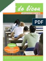Ani de Liceu 2010 - Gazeta de Sud