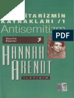 Hannah Arendt - Totalitarizmin Kaynakları 1.Antisemitizm.pdf