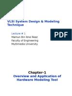 VLSI System Design & Modeling Technique