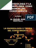CLASE N°.2 -LA GNOSEOLOGÍA O TEORÍA DEL CONOCIMIENTO