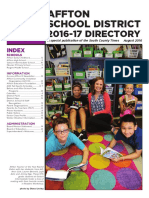 Affton School District Directory 2016-17