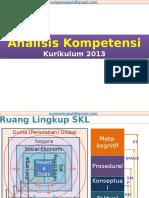 Analisis Kompetensi K13
