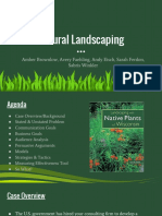natural landscaping- pa project 2