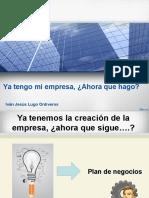 Presentacion plan de negocios