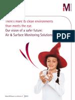 Monitoreo de Ambientes en Merck