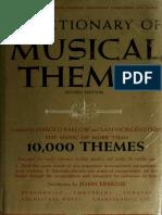 207184598 a Dictionary of Musical Themes Barlow Harold