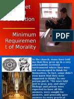 Worksheet for Moral Deliberation