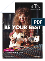 Full Time Course Guide 2016
