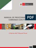 Manual de Cobranza Coactiva - MEF - Peru