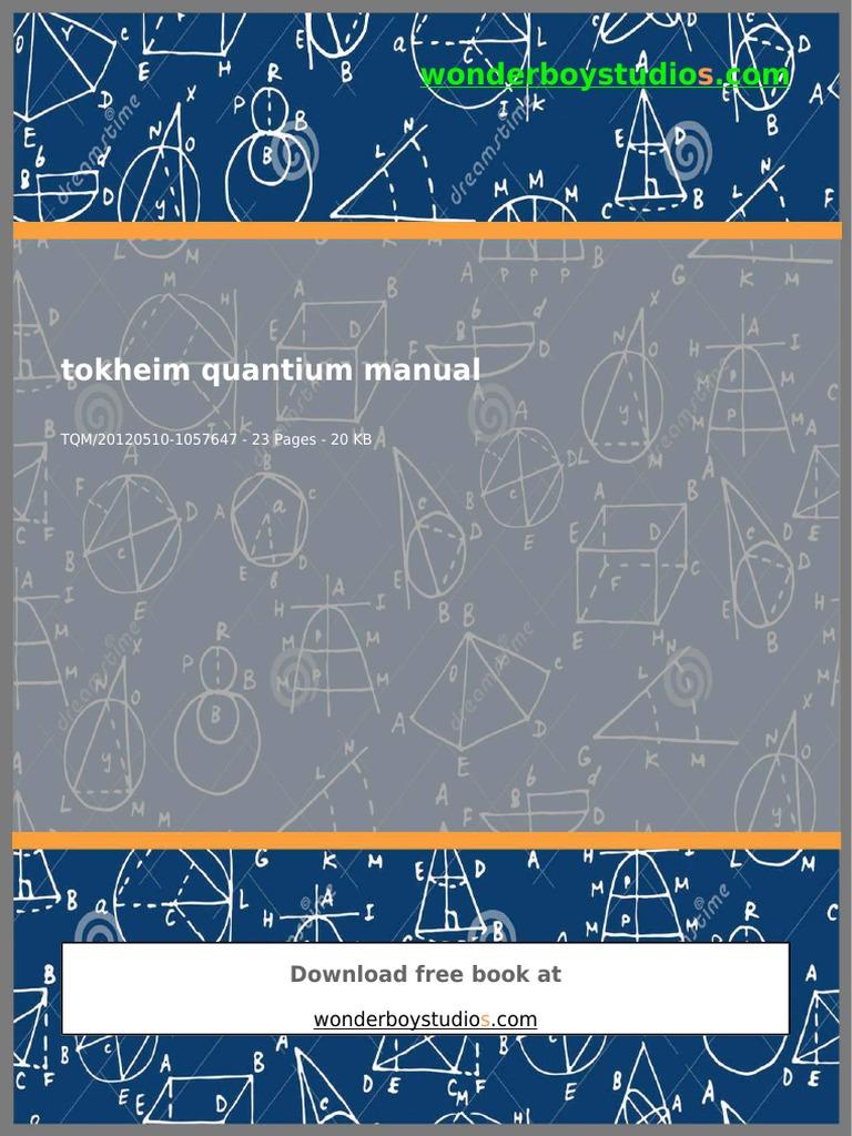 Tokheim Quantium Manual II Technology
