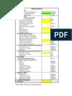 6) Caso 2 - Costo de Perforacion y Voladura de Mina a Tajo Abierto