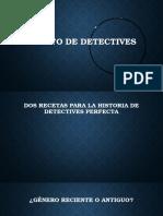 Cuento de Detectives