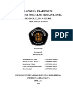Formulasi Sirup Pseudoefedrin HCl Dan CT