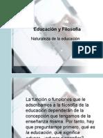 Educación y Filosofía