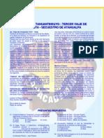 INVASIÓN AL TAHUANTINSUYO TERCER VIAJE DE  CONQUISTA - SECUESTRO DE ATAHUALPA