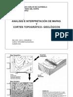 Unidad No. 5.2 Análisis de Mapa y Cortes Geológicos Completo (Presentación)