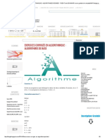 EXERCICES CORRIGÉS EN ALGORITHMIQUE _ ALGORITHMES DE BASE - FSEG Tunis El MANAR cours gratuits de comptabilité Partage gratuit de cours.pdf
