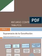TEMA V Recurso contra tributos ilegales.pdf