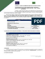 Edital Corpo de Bombeiros - Tecdec - Vestibular 2014