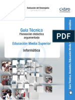 Guia Tecnica Planeacion Informatica Ems