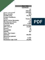 liquidaciones de sueldo