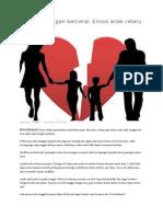 Konflik pasangan bercerai