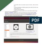 Cara Install Ubuntu