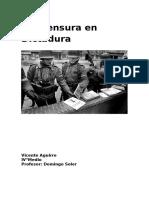 Informe Censura en Dictadura Chile